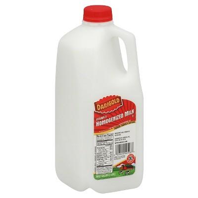 Darigold Homogenized Milk - 0.5gal
