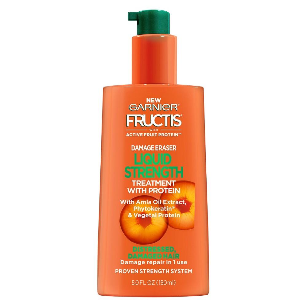 Garnier Fructis with Active Fruit Protein Damage Eraser Liquid Strength Treatment with Protein 5oz