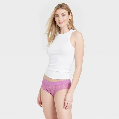Women's Lace Cheeky with Micro Waistband - Auden™