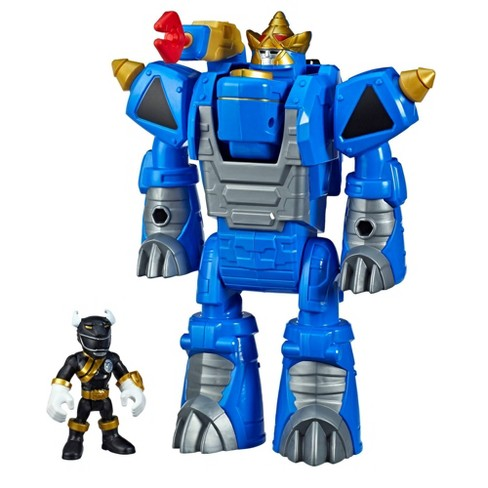 Playskool Heroes Power Rangers Morphin Zords Black Ranger and Rhino Zord - image 1 of 4