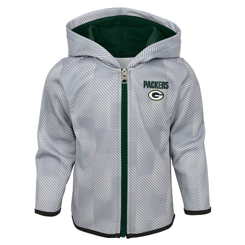 outlet store 4e376 952e8 NFL Green Bay Packers Toddler Cheer Loud Sublimated Full Zip Hoodie