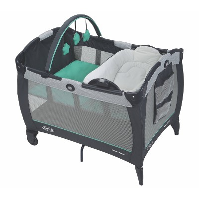 Graco Pack 'n Play Playard With Reversible Seat & Changer LX - Basin