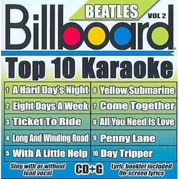 Billboard Karaoke - Billboard Karaoke - Billboard Beatles Top 10 Karaoke Vol 2 (10+10-song CD+G)