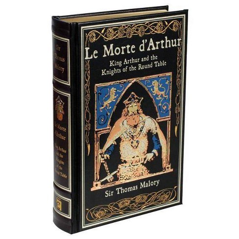 Le Morte d'Arthur - (Leather-Bound Classics) by  Thomas Malory (Leather_bound) - image 1 of 1