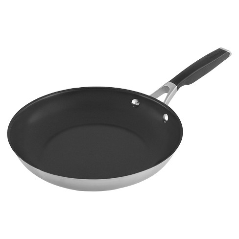 Select By Calphalon 12 Quot Stainless Steel Non Stick Fry Pan