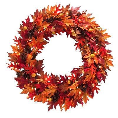"36"" Harvest Maple Wreath"