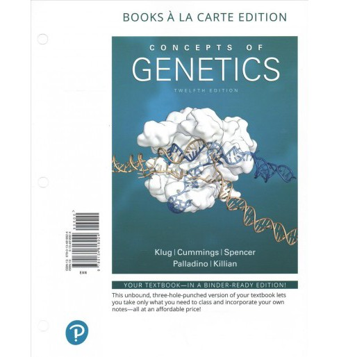 Concepts of Genetics -  (Paperback) - image 1 of 1