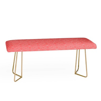 Mirimo Celebration Coral Bench - Deny Designs
