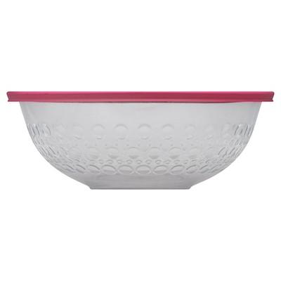 Pyrex 2.5 Quart Dot Textured Bowl - Red