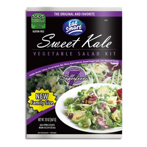 Eat Smart Sweet Kale Salad Family Size Kit - 20oz - image 1 of 4