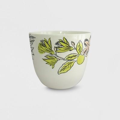 7  Stoneware Planter Mixed Tropical - Opalhouse™
