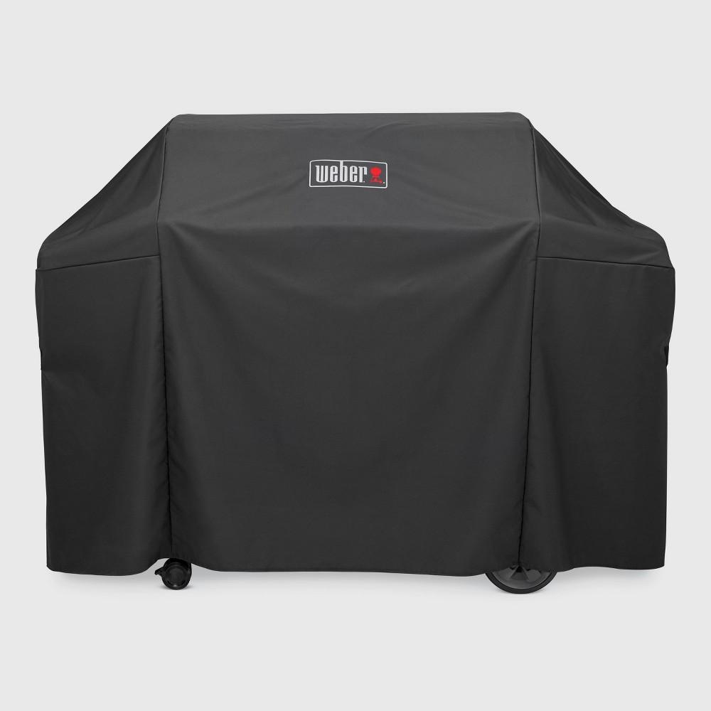 Weber Genesis II 4 Burner Premium Cover- Black 51818640