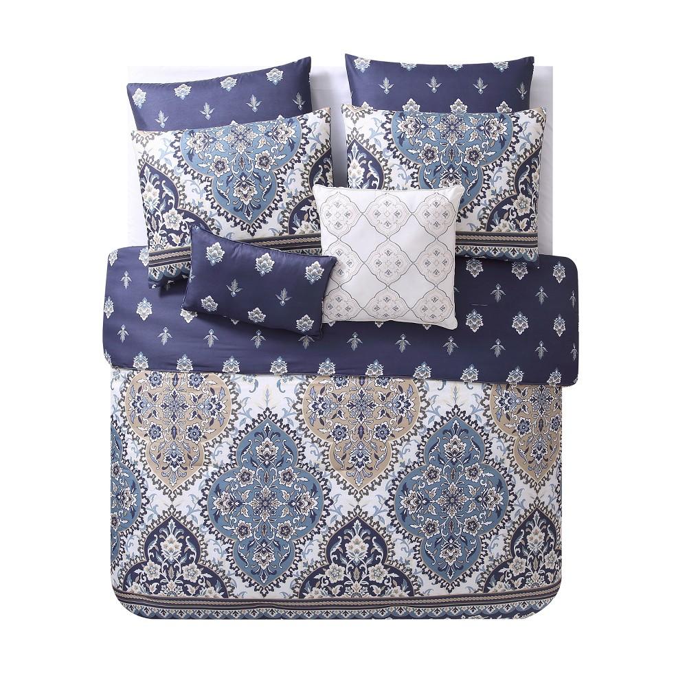 King Brule Comforter Set Blue - Vcny Home