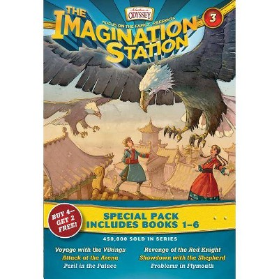 Imagination Station Special Pack: Books 1-6 - (Imagination Station Books) by  Marianne Hering & Paul McCusker & Brock Eastman & Marshal Younger