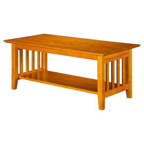 Mission Coffee Table Walnut Atlantic Furniture