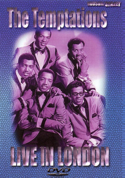 Temptations:Live In London (DVD) - image 1 of 1