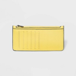 Zip Closure Card Case - A New Day™