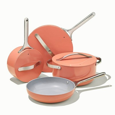 Caraway Home 7pc Non-Stick Cookware Set - Perracotta