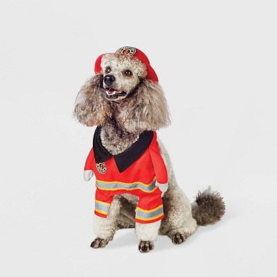 Firefighter Frontal Dog and Cat Costume - Hyde & EEK! Boutique™