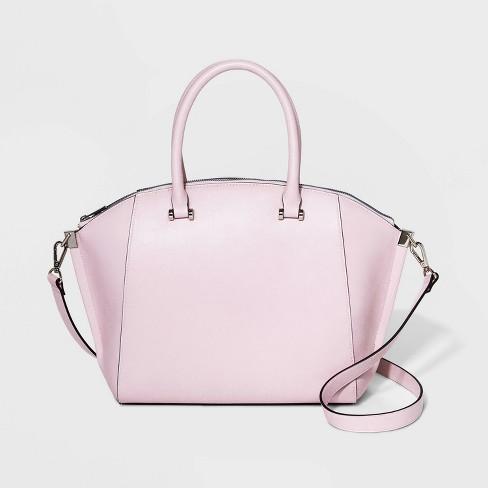 Structured Wing Satchel Handbag A New