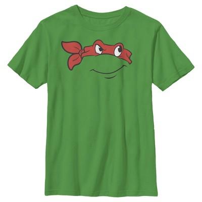 Boy's Teenage Mutant Ninja Turtles Raphael Face T-Shirt