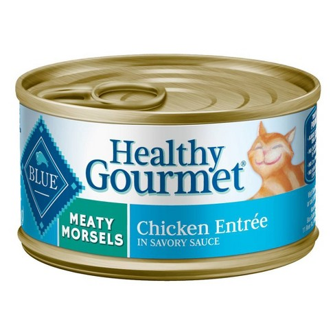 Blue Buffalo Healthy Gourmet Adult Meaty Morsels Chicken Entree Wet Cat Food - image 1 of 4