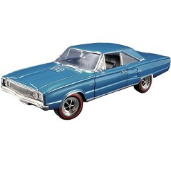 1967 Dodge Coronet R/T Metallic Blue Limited Edition to 552 pieces Worldwide 1/18 Diecast Model Car by ACME