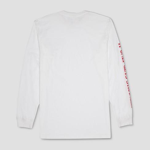 Mens Stranger Things It Only Gets Stranger Long Sleeve T Shirt