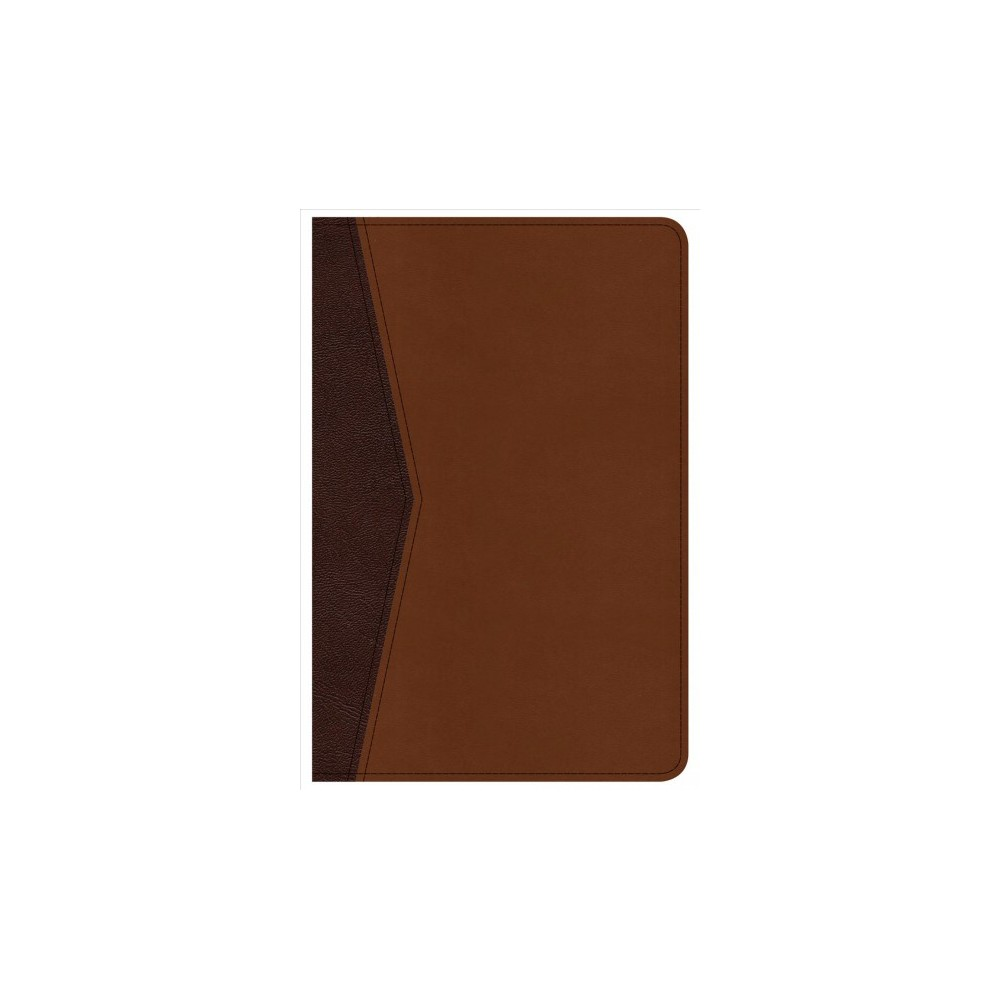 Holy Bible : Christian Standard Bible, Compact Ultrathin Bible for Teens, Walnut Leathertouch