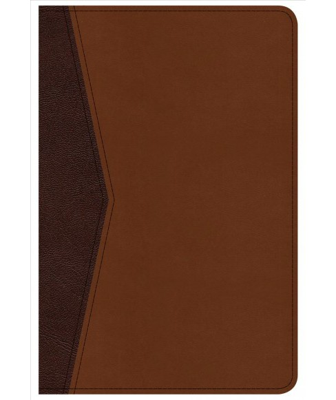 Holy Bible : Christian Standard Bible, Compact Ultrathin Bible for Teens, Walnut Leathertouch - image 1 of 1