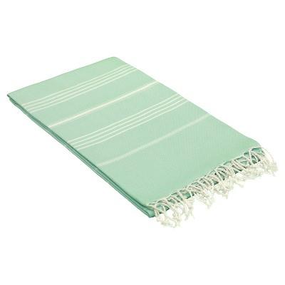 Lucky Pestemal Beach Towel Soft Aqua