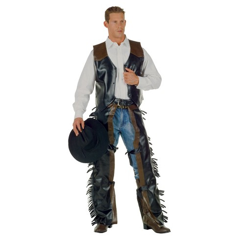 Men's Cowboy Adult Costume - image 1 of 1