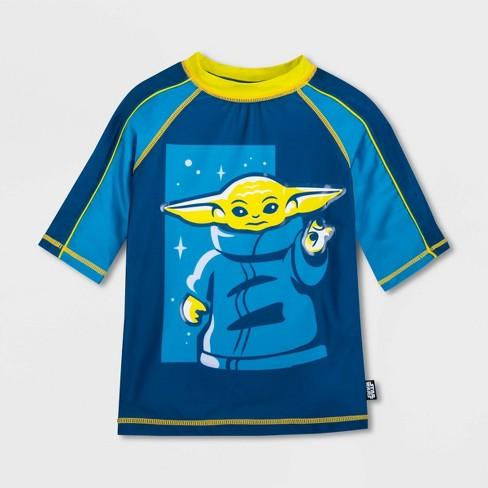 Boys' Disney Star Wars The Child Rash Guard - Blue - Disney Store - image 1 of 2