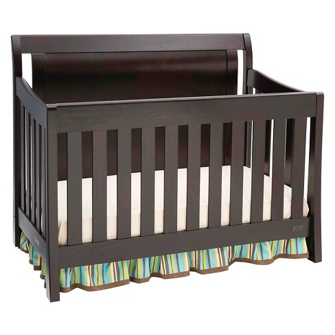 Simmons Kids Slumbertime Madisson Convertible Crib N More Black