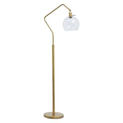 Marilee Metal Floor Lamp Antique Brass - Signature Design by Ashley