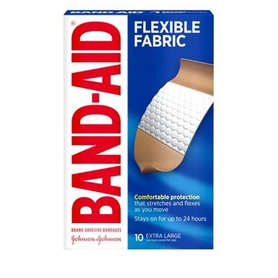 Band-Aid Heavy Duty Flex Bandage - 10ct