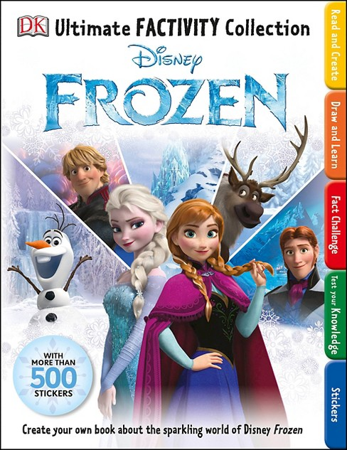 Disney Frozen ( Ultimate Factivity Collection) (Paperback) Jo Casey - image 1 of 1