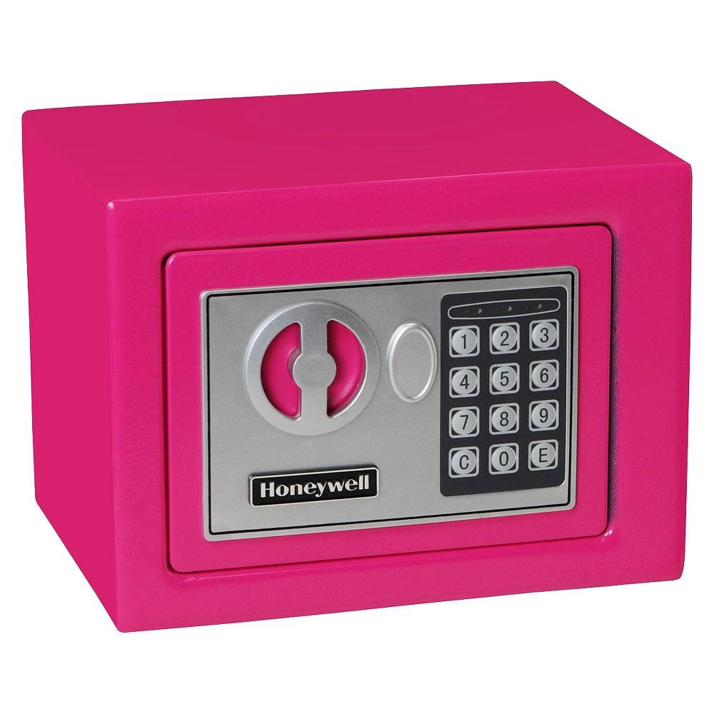 Image of 0.17 Cu. Ft. Steel Security Safe - Pink