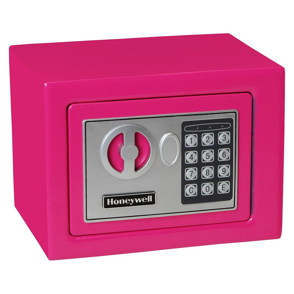 Image of 0.17 Cu. Ft. Steel Security Safe - Pink
