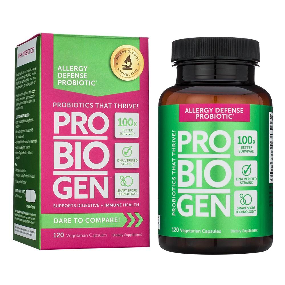 Probiogen Allergy Defense Probiotics Capsules - 120ct
