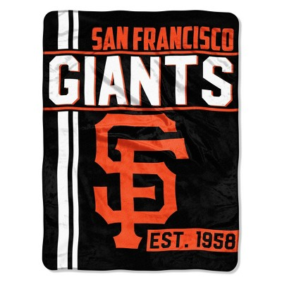 MLB San Francisco Giants Micro Fleece Throw Blanket
