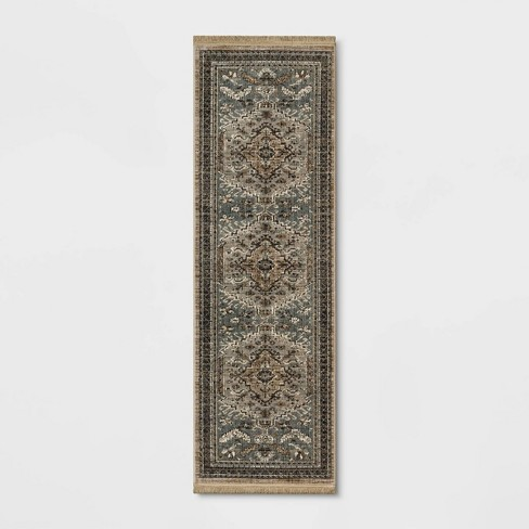 Floral Woven Accent Rug - Threshold™ - image 1 of 4