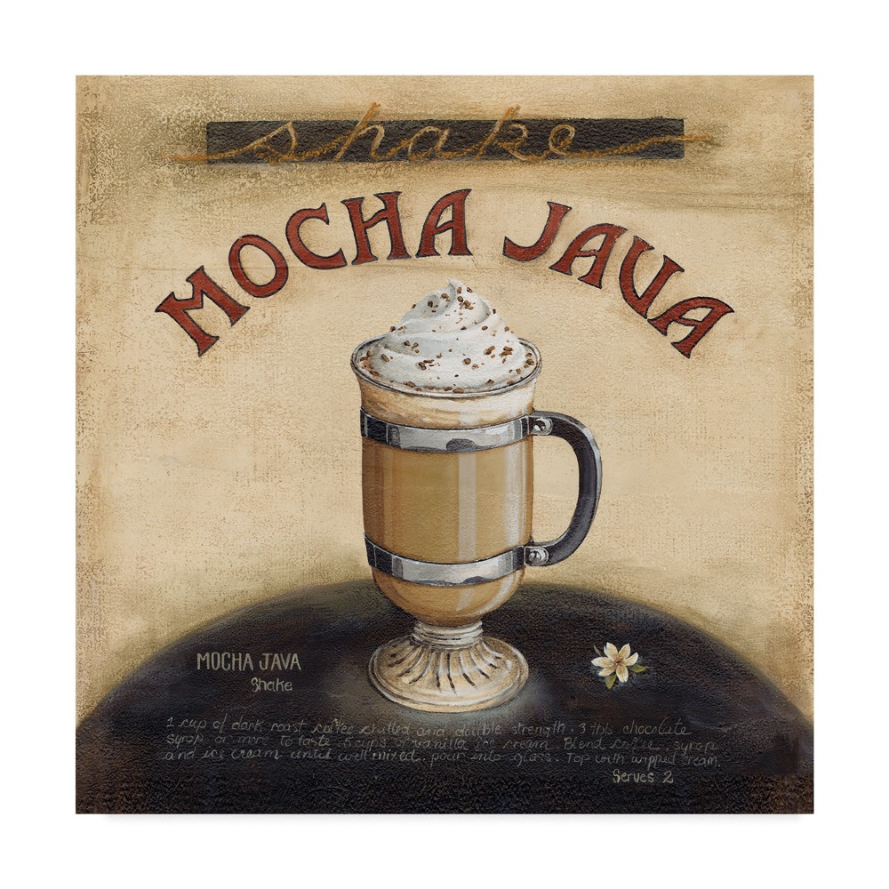 Lisa Audit Mocha Lava Unframed Wall 24