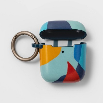heyday™ Apple Airpod Silicone Case - Vibrant Abstract