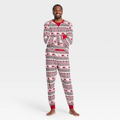 Men's Holiday Fair Isle Print Matching Family Pajama Set - Wondershop™ White