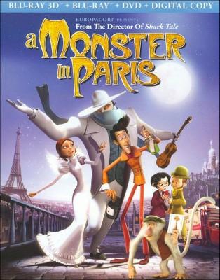 A Monster in Paris (2D + 3D) (Blu-ray + DVD + Digital)