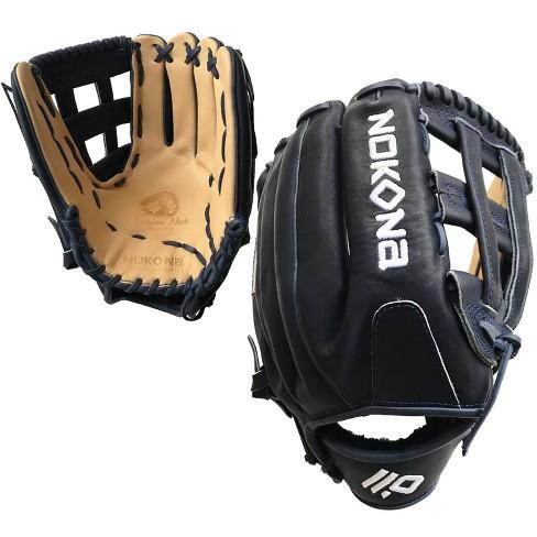 "Nokona SKN Series H-Web 13"" SKN-9-NVH Slowpitch Softball Glove - Navy Lacing - image 1 of 3"