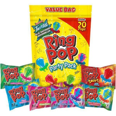 Ring Pop Lollipops and Hard Candies Party Pack - 10oz/20ct