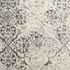"7'10""X10'8"" Gray Damask Woven Area Rug - Addison Rugs - image 3 of 4"