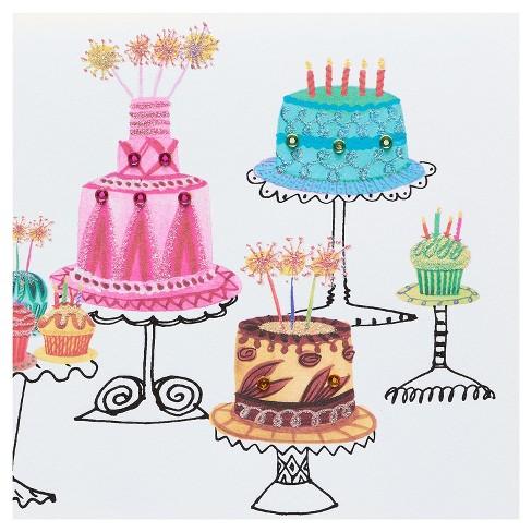Papyrus cakes birthday card target papyrus cakes birthday card m4hsunfo
